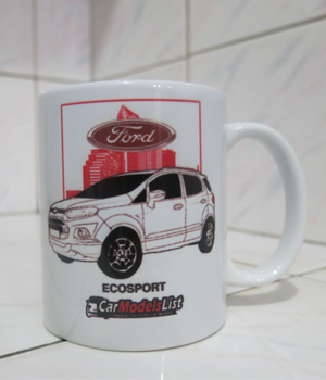 Original Ford Ecosport Car Model Mug