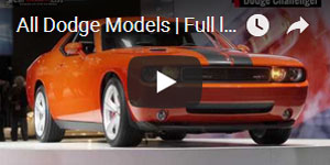 Full List of Dodge Car Models