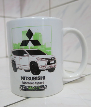 Original Mitsubishi Montero Sport Car Model Mug