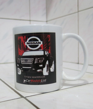 Original Nissan Titan Warrior Car Model Mug