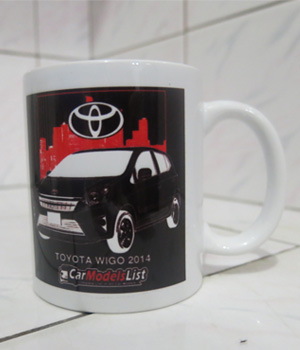 Original Toyota Wigo Car Model Mug