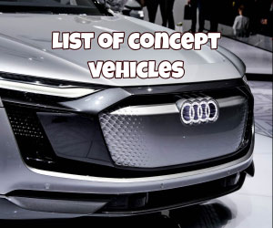 List Of All Concept Car Models