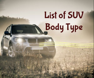 List Of All Suv Car Models