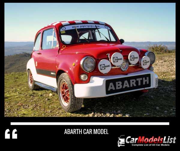 Abarth model