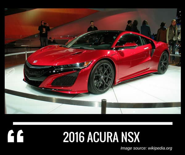 Complete List Of All Acura Models
