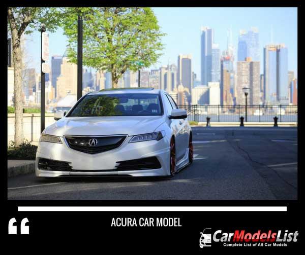 Acura model