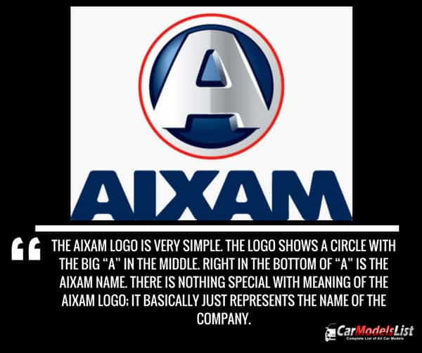 AIXAM car company logo meaning and description