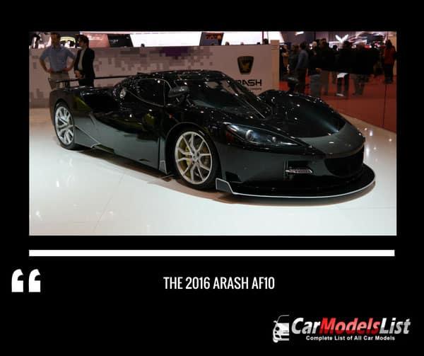 2016 Arash AF10