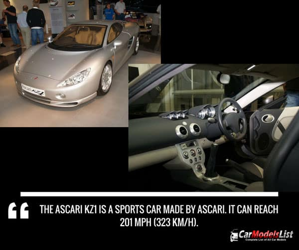 Ascari KZ1 speed and history