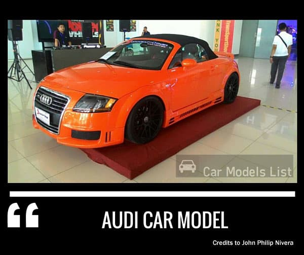 Audi Car Models List Complete List Of All Audi Models Part - All audi cars models list