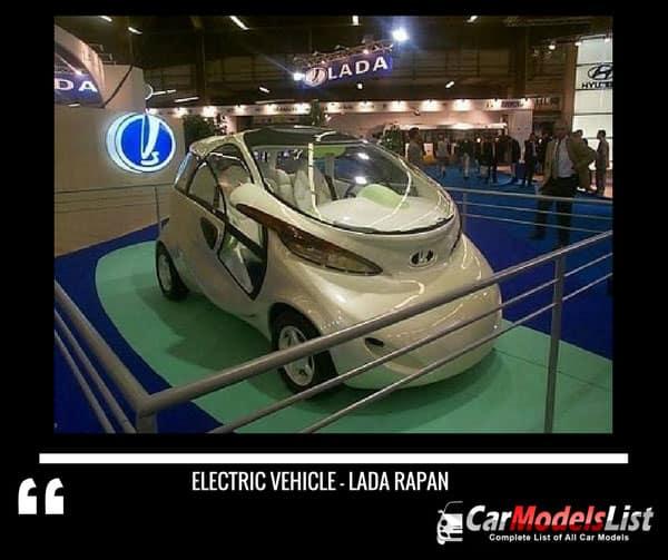 Lada Rapan Electric vehicle by Avtovaz