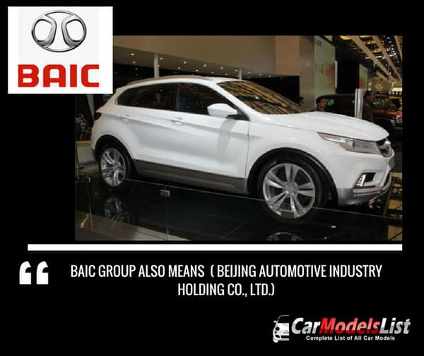 BAIC acronym meaning