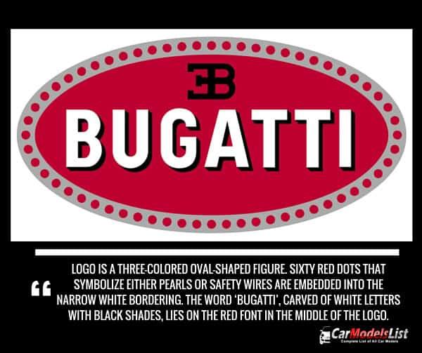 Bugatti Logo Meaning and Description