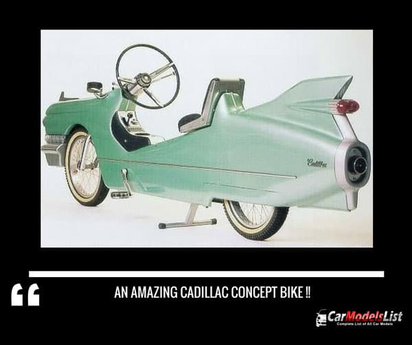 An amazing Cadillac Concept Bike