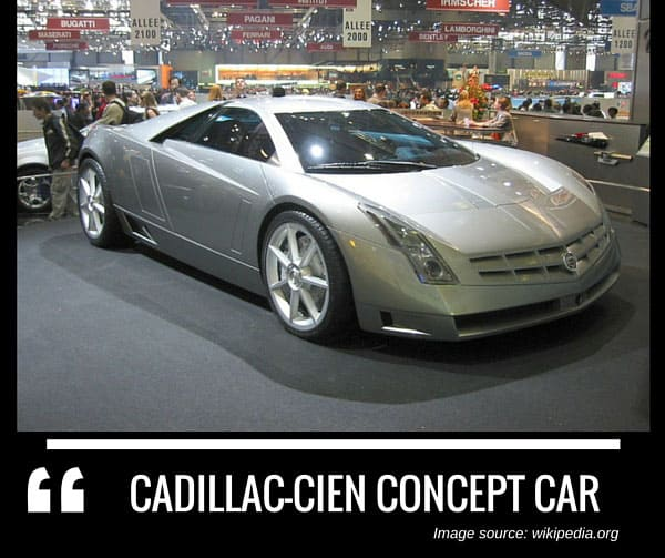 Complete List Of All Cadillac