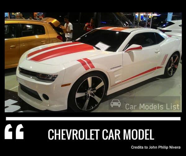 Chevrolet car model
