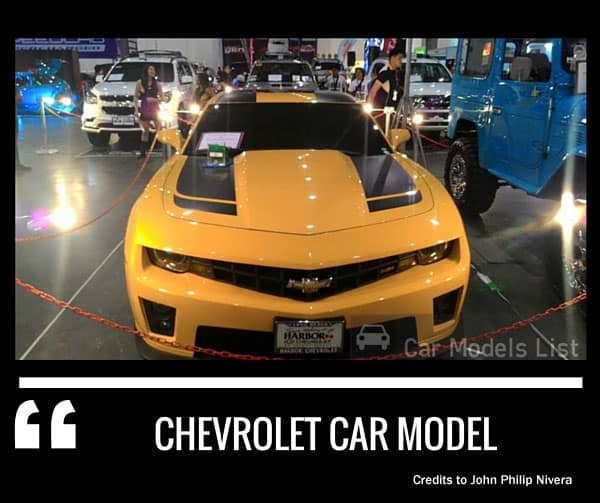 Prestige chevrolet car model
