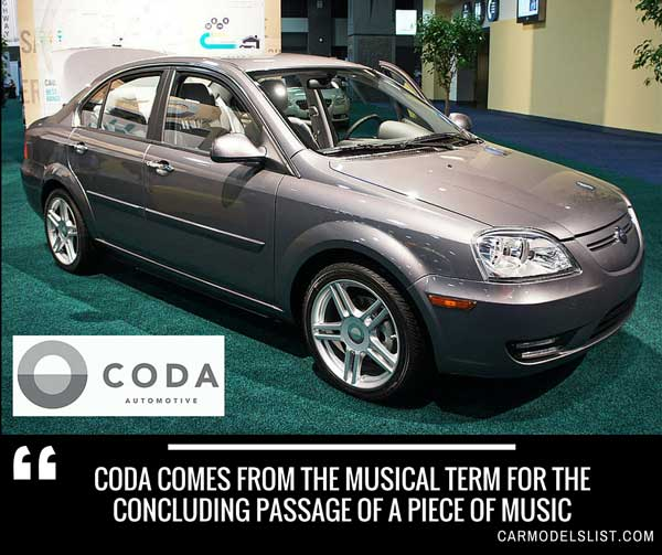 CODA comes from the musical term for the concluding passage of a piece of music