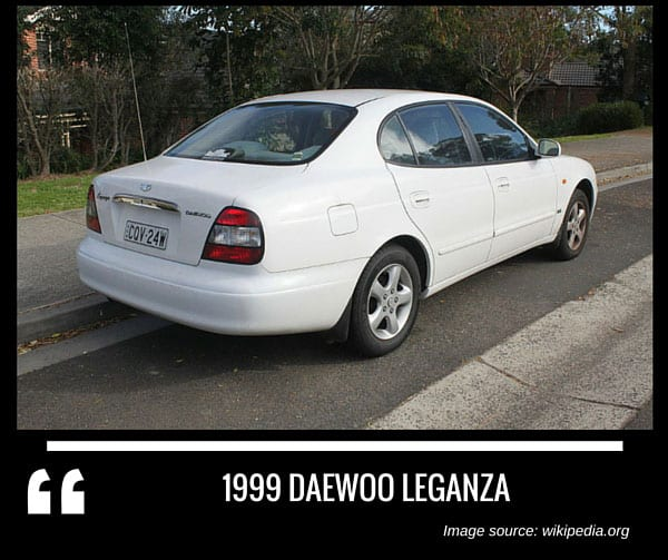 1999 Daewoo Leganza Interior: Complete List Of All Daewoo Models