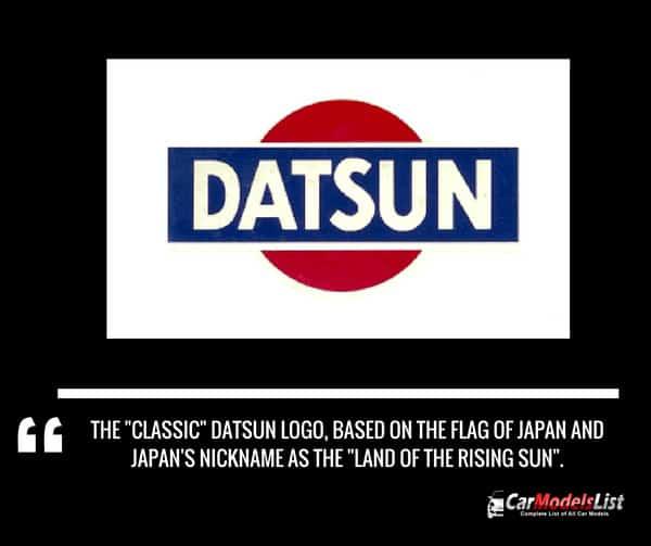 Datsun car logo