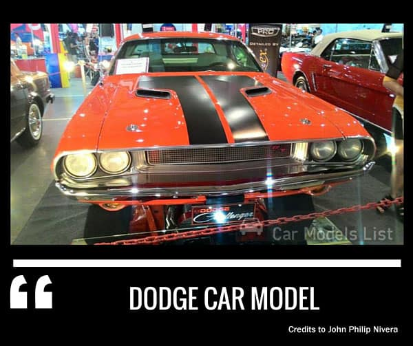 Dodge car model