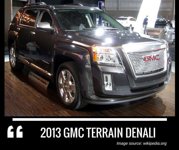 2013 GMC Terrain Denali