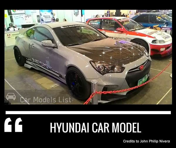 Hyundai car model