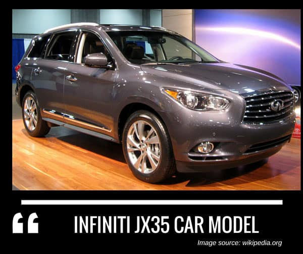 Infiniti JX35 car model