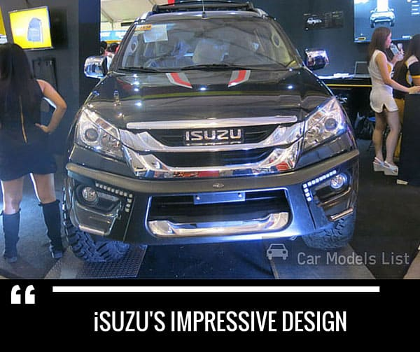 Isuzus impressive car model design