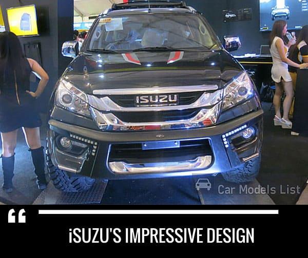 Isuzus impressive car model design