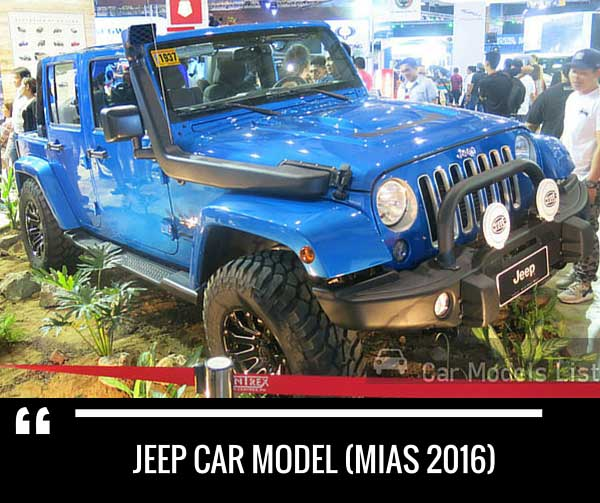 Jeep car model mias
