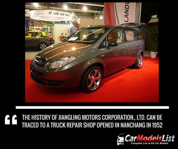The history of JMC car company