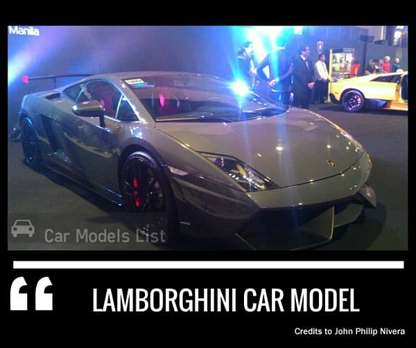 Gray lamborghini car model