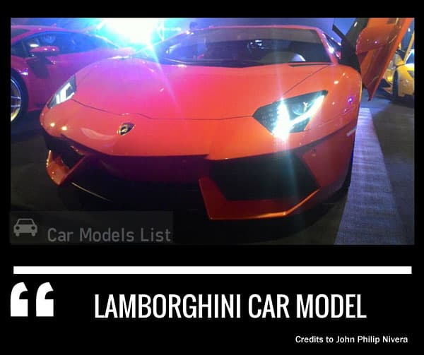 Lamborghini car model