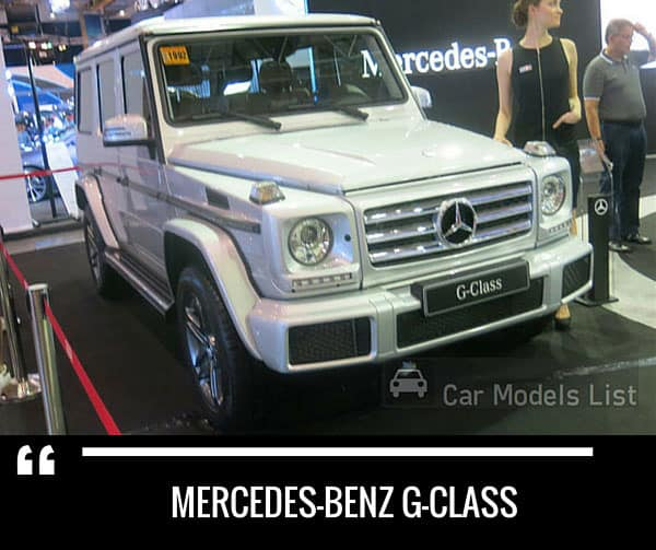 Mercedes benz g class car model