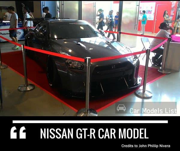 Nissan gtr car model