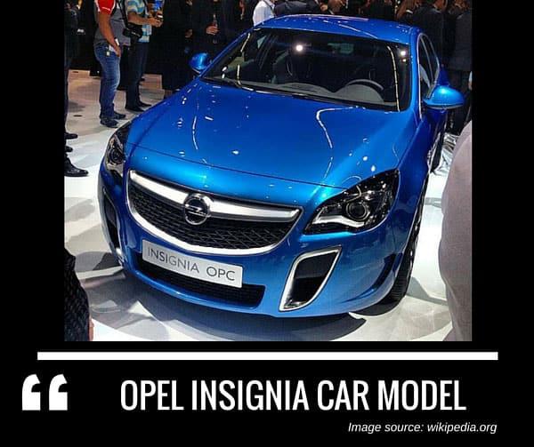 Opel Insignia car model