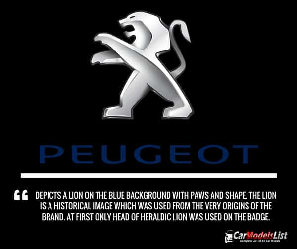 Peugeot Logo Meaning and Description