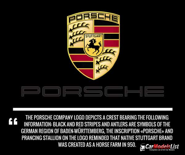 Porsche Logo Meaning and Description