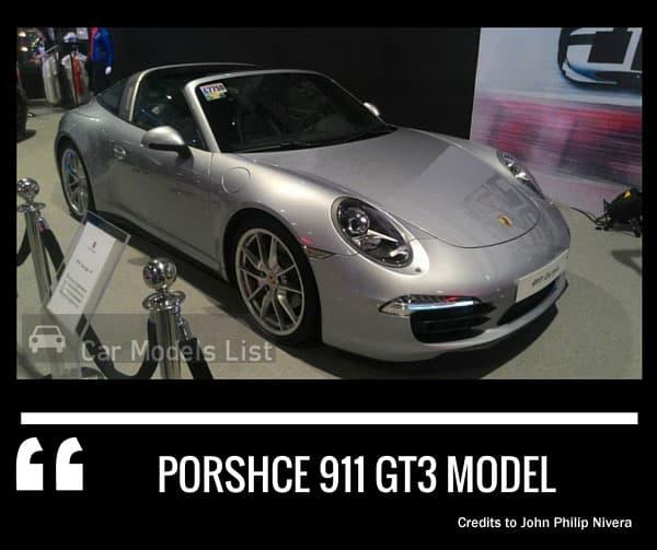 Porsche 911 gt3 model