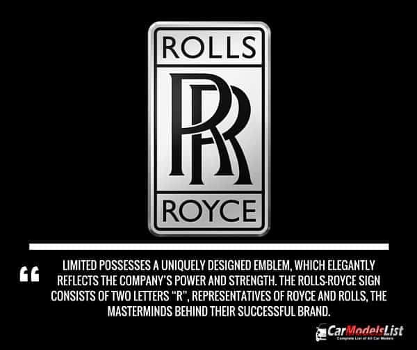 Rolls Royce Logo Meaning and Description