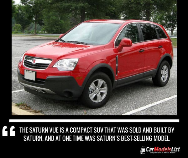 Saturn Vue Car Model