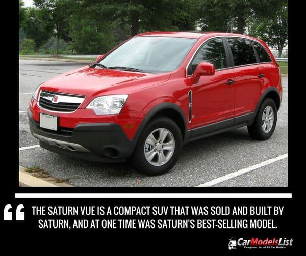 Saturn Vue Car Model