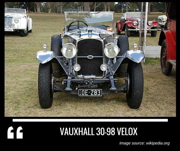 Vauxhall 30 98 Velox