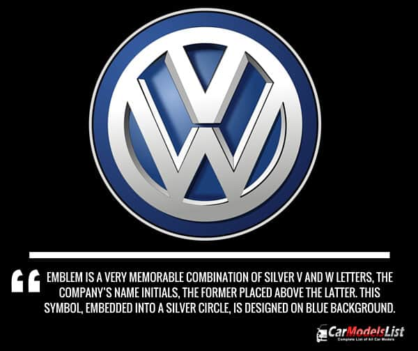 Volkswagen Logo Meaning and Description