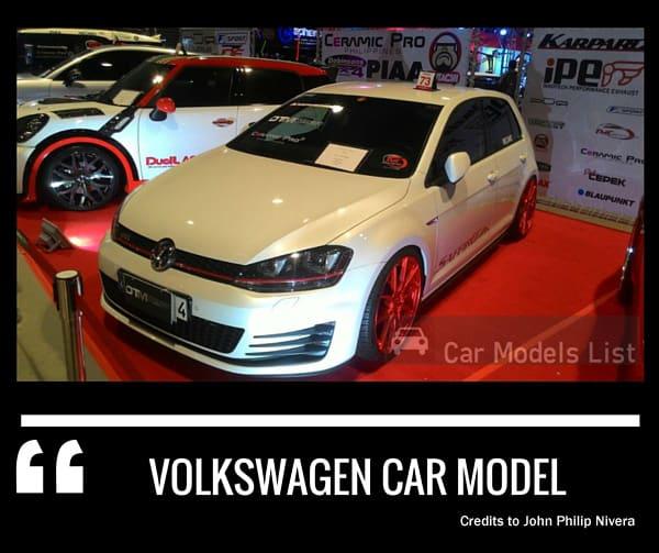 Volkswagen car model