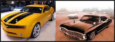 Chevrolet Camaro and Chevrolet Impala