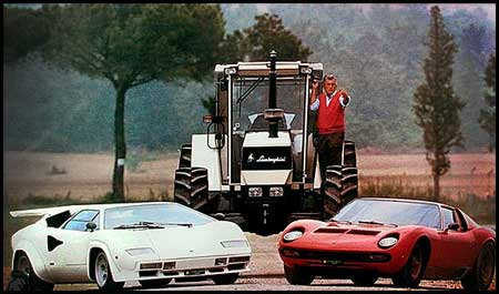 Ferrucio Lamborghini The Story Of How A Tractor Maker Decided To Go