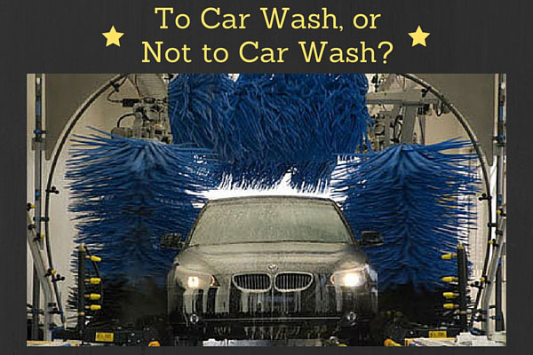 To Car Wash, or Not to Car Wash?