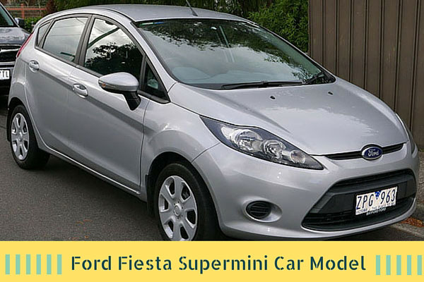 Ford Fiesta Car Model